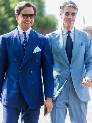 The Most Dapper Men of Pitti's Street Style Scene