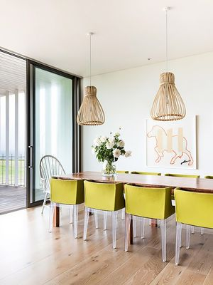 Tour a Contemporary Beach House With a Cool Twist