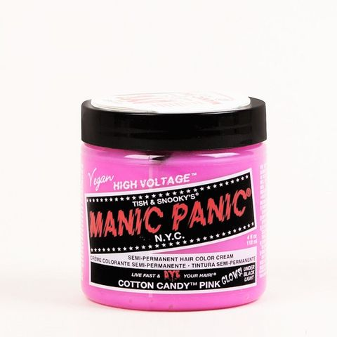 NYC Classic Semi Permanent Hair Colour Cream in Candy Pink