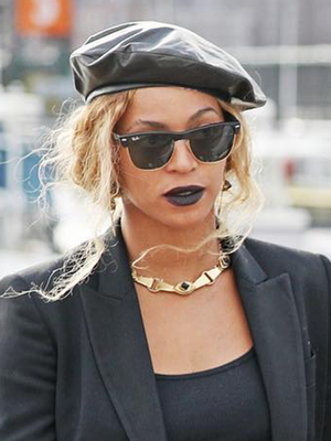 How to Pull Off Black Lipstick Like Beyoncé—See the Photos