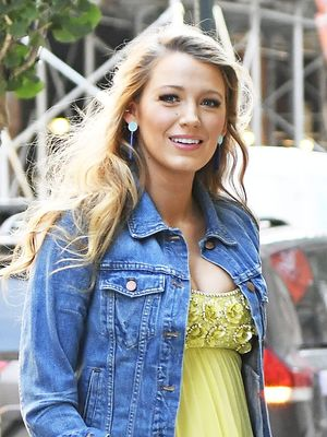 Blake Lively Gave Her Fancy Gown a Very L.A. Twist