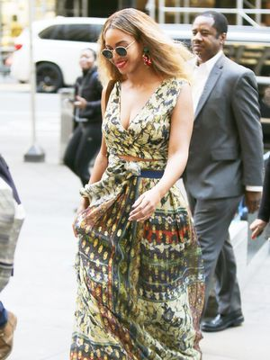 Beyoncé Just Borrowed a Styling Trick From Taylor Swift