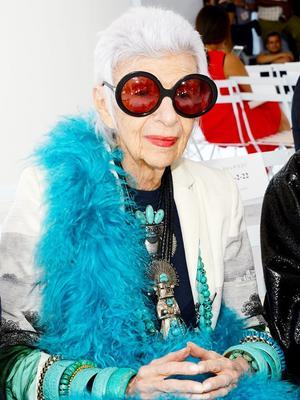 Iris Apfel Has Some Exciting Fashion News