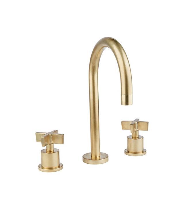 modern gold faucet