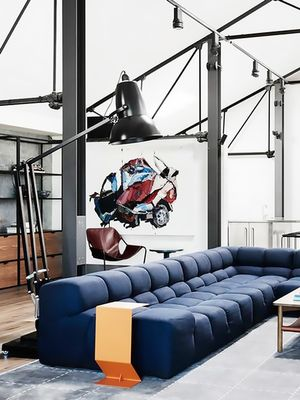 This Stylish Aussie Warehouse Nails That Cool Industrial Look