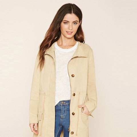 Hooded Longline Parka