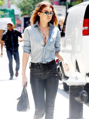 Gigi Hadid's Custom Shirt Makes Us Want to Personalize Everything