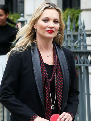 Kate Moss's Clutch Is Not Your Average It Bag