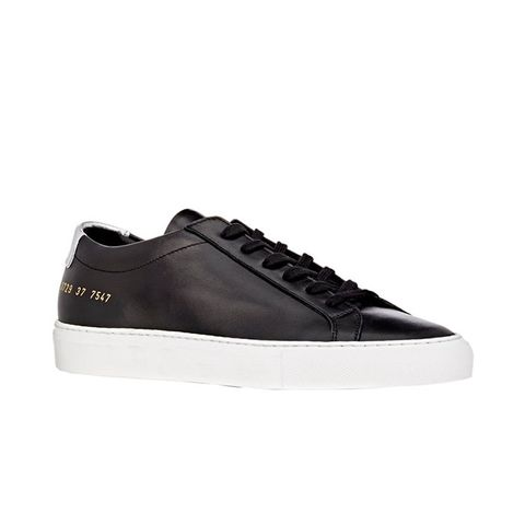 Leather Achilles Low-Top Sneakers