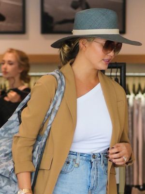 Chrissy Teigen Wore the Best Shorts for Girls Who Hate Shorts