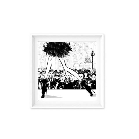 Limited Edition Print - Milan Fashion Week 3
