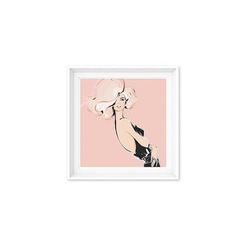 Hollywood Pink Print