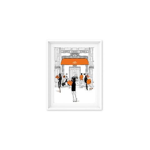 Fashion Doors Hermes Print