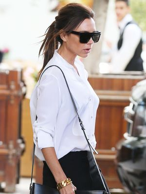 The #1 Universally Flattering Sunglasses, According to Victoria Beckham