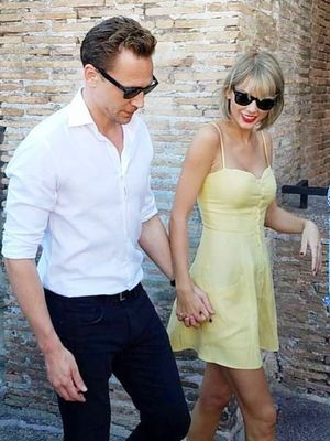 Taylor Swift Just Wore the Prettiest Dress on Her Roman Holiday