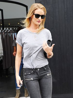 Rosie Huntington-Whiteley's New Skinny Jeans Feel So Right Now