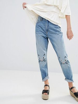 Every Cat Lover Needs These Super-Cute Jeans