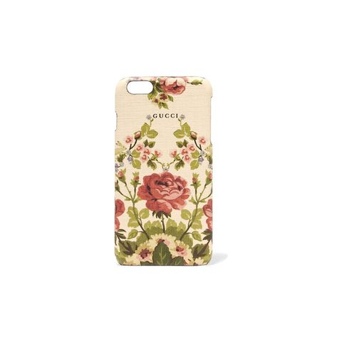 Adonis floral-print textured iPhone 6+ case