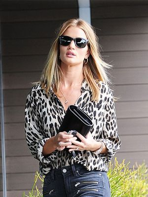 Rosie Huntington-Whiteley Can't Stop Wearing These Jeans