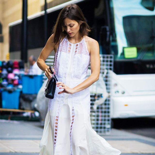 7 Secrets Celebs Use to Feel Completely Comfortable in a White Dress