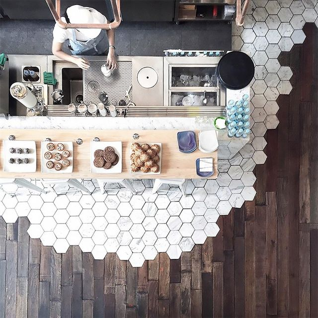 "Renovating a studio apartment can often feel like it's fraught with spatial issues, but we've got good news: This trend is made for small homes. ""I think this type of floor treatment is most..."