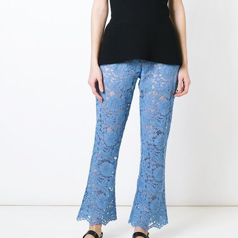 Floral Lace Trousers