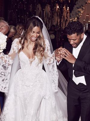 Get a Peek at the Custom Bridesmaid Dresses Ciara Had Made
