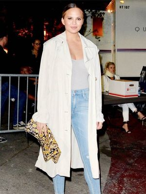 What Chrissy Teigen Wears Post-Baby That She Never Wore Before