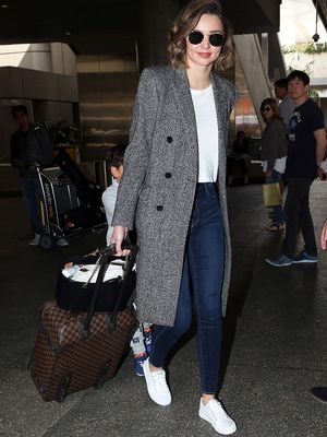 Miranda Kerr Seriously Has the Best Airport Outfit Formula