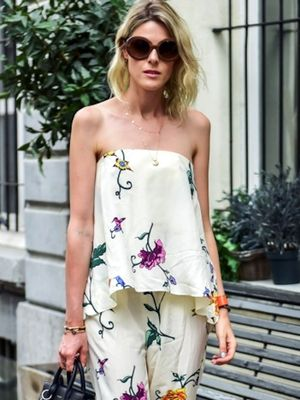 A Whimsical Floral-Print Look to Try Now