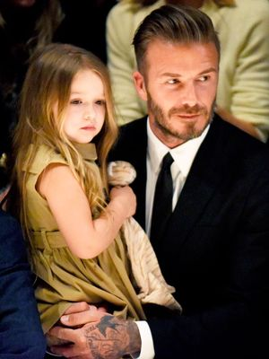 David Beckham's Instagram Tribute to His Daughter Is the Cutest Thing Ever