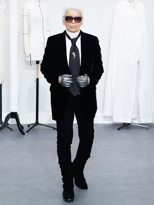 "Karl Lagerfeld Gives Rare Interview, Explains His ""Double Life"""