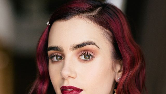Exclusive: Lily Collins Shows Us How to Get Ultra-Pretty Rosebud Lips