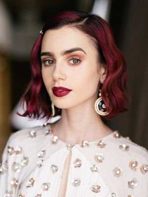 Exclusive: How to Get Lily Collins's Ultra-Pretty Rosebud Lips