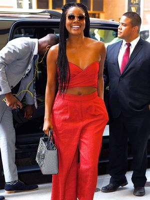 Shopping PSA: Gabrielle Union's Colorful Sandals Are 50% Off