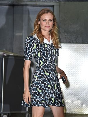 You're Going to Love Diane Kruger's Miu Miu Platforms