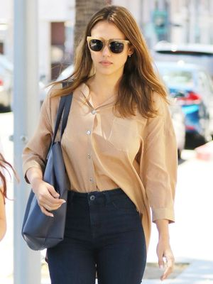 Jessica Alba Reveals the One Denim Style She Won't Try