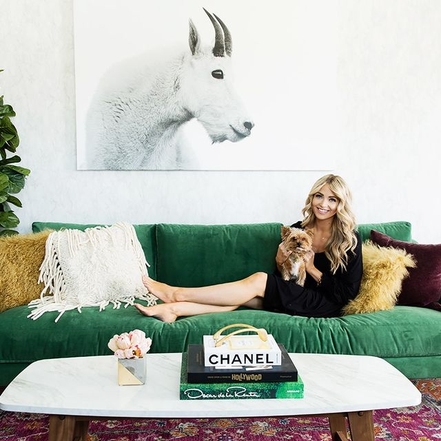 Inside a Style Blogger's Insanely Chic Office Makeover