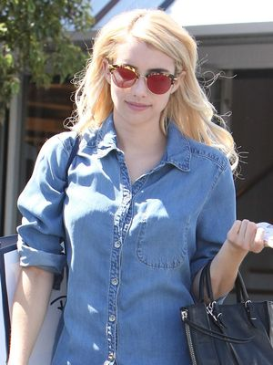 The Emma Roberts Way to Wear Athletic Sneakers IRL (Not at the Gym)