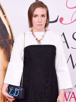 Lena Dunham Wore Vintage Dior to Her Prom—See the Pic