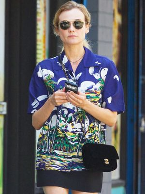 What Diane Kruger Wore on Her Birthday Weekend