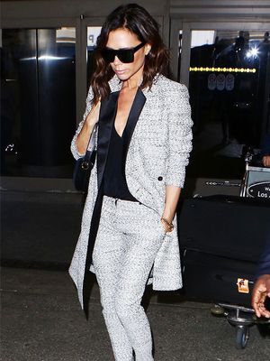 Victoria Beckham's Latest Airport Look Is So Chic