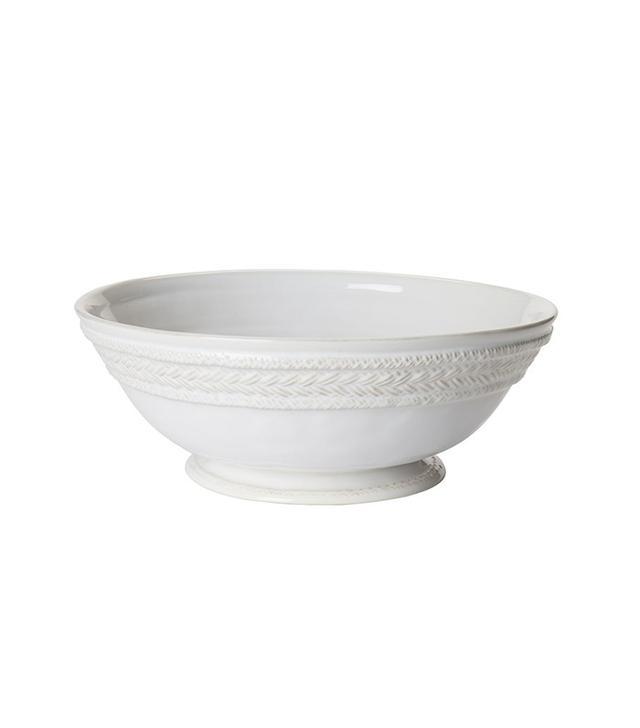 White Fruit Bowl