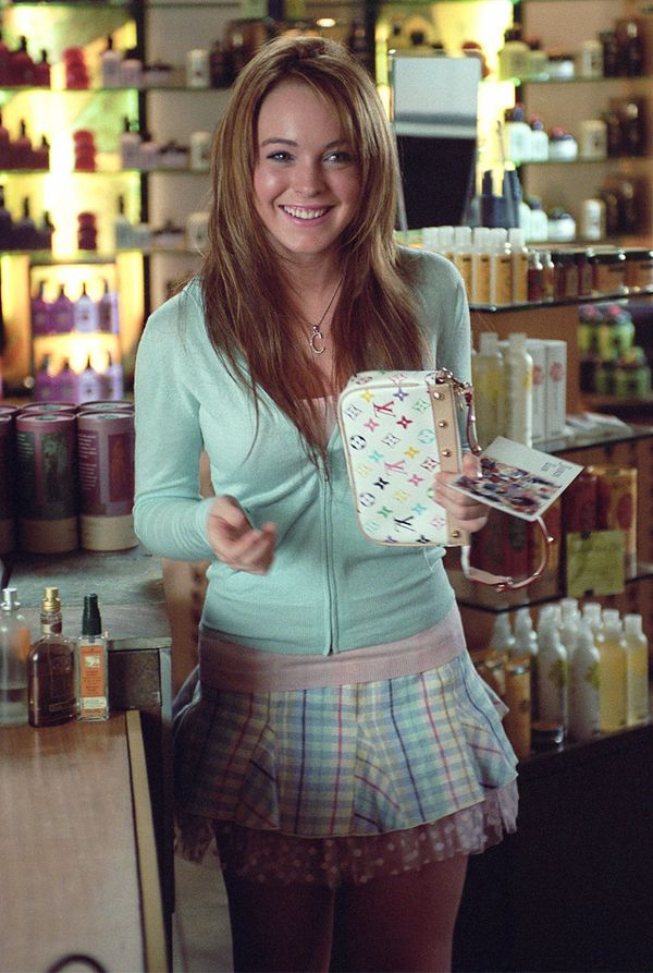 00s fashion trends: lindsay lohan in Mean Girls