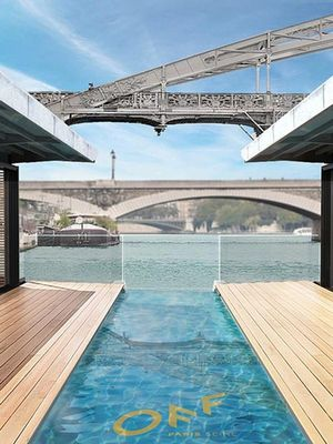 Paris's First Floating Hotel Is the Ultimate Relaxing Getaway