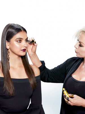 Tutorial: How Makeup Artist Joyce Bonelli Does Red Carpet Makeup