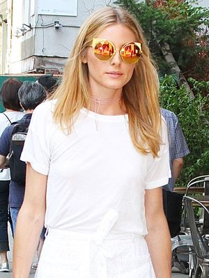 Olivia Palermo Just Made a White T-Shirt Look So Chic