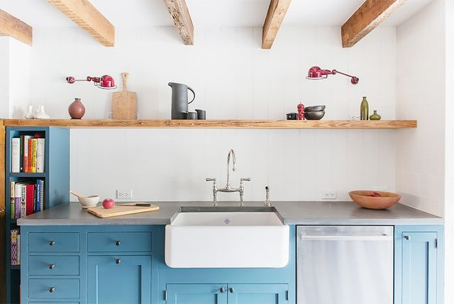 Wonderful Blue Lower Kitchen Cabinets