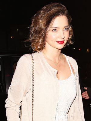 Miranda Kerr Is Already Dressing Like a Bride-to-Be