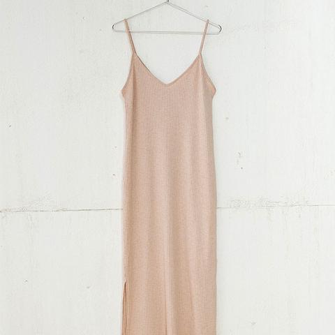 Canalé Ankle-Grazer Dress
